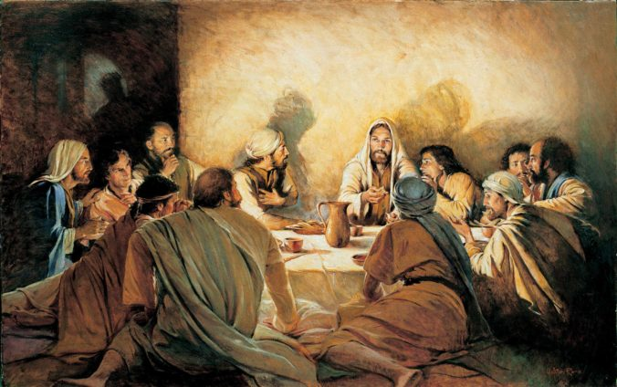 The Last Supper With Jesus Christ