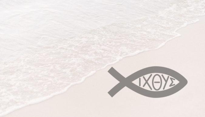 Christian Fish Symbol - Ichthus, Ichthys