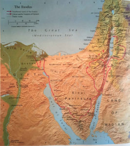 Atlas of the Bible Lands: The Exodus