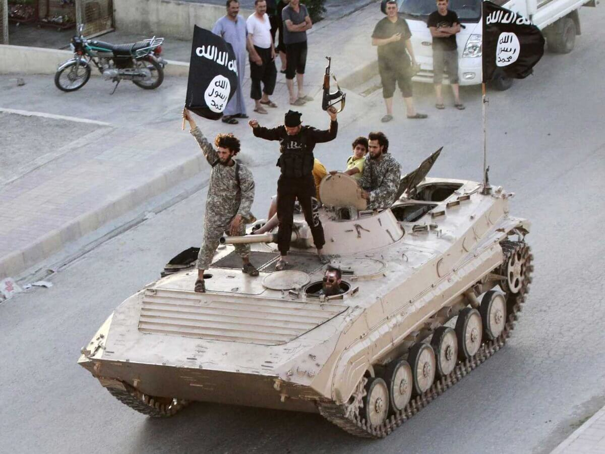 ISIS With Tank Syria - Business Insider