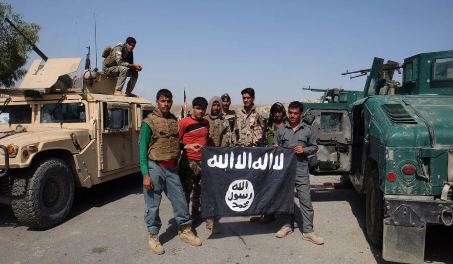 ISIS With Two United States Humvees - Washington Times