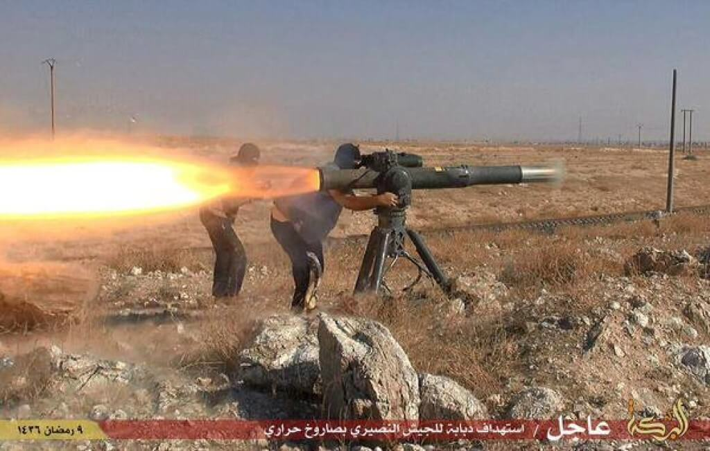 ISIS With United States BMG-71 Tow American