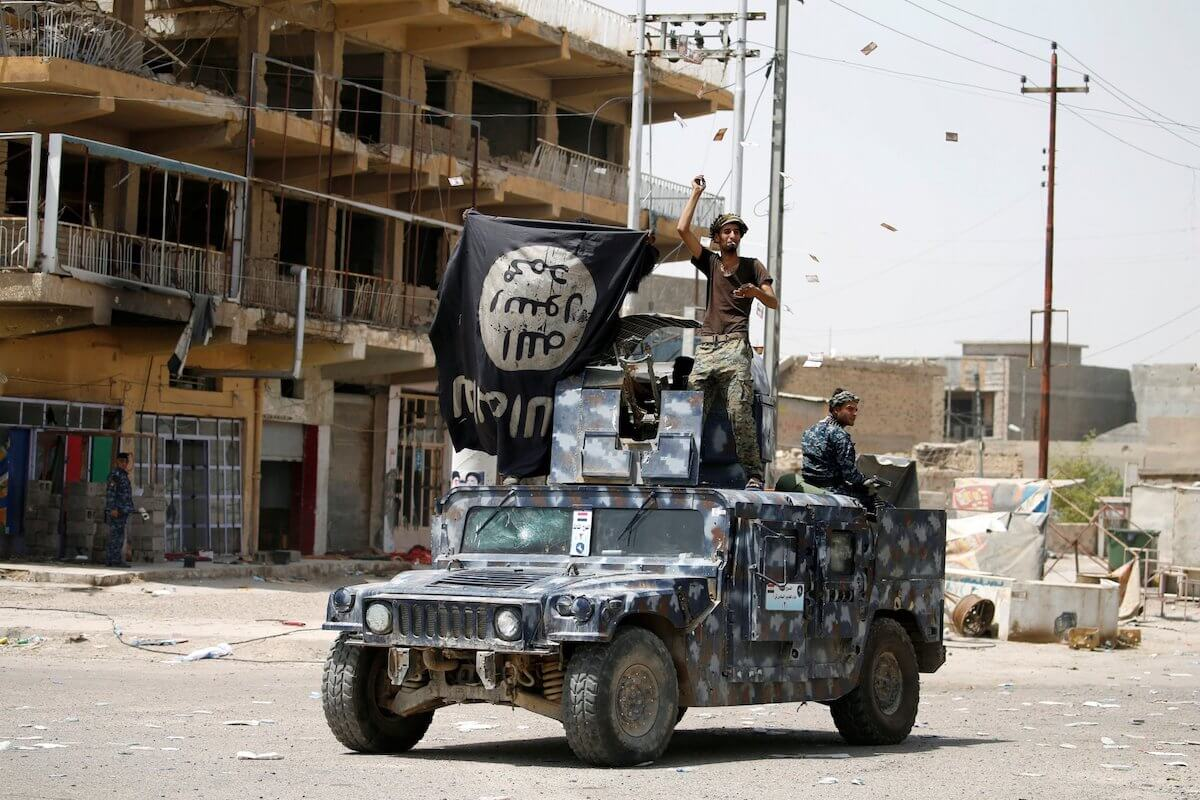 ISIS With United States Humvee - Business Insider