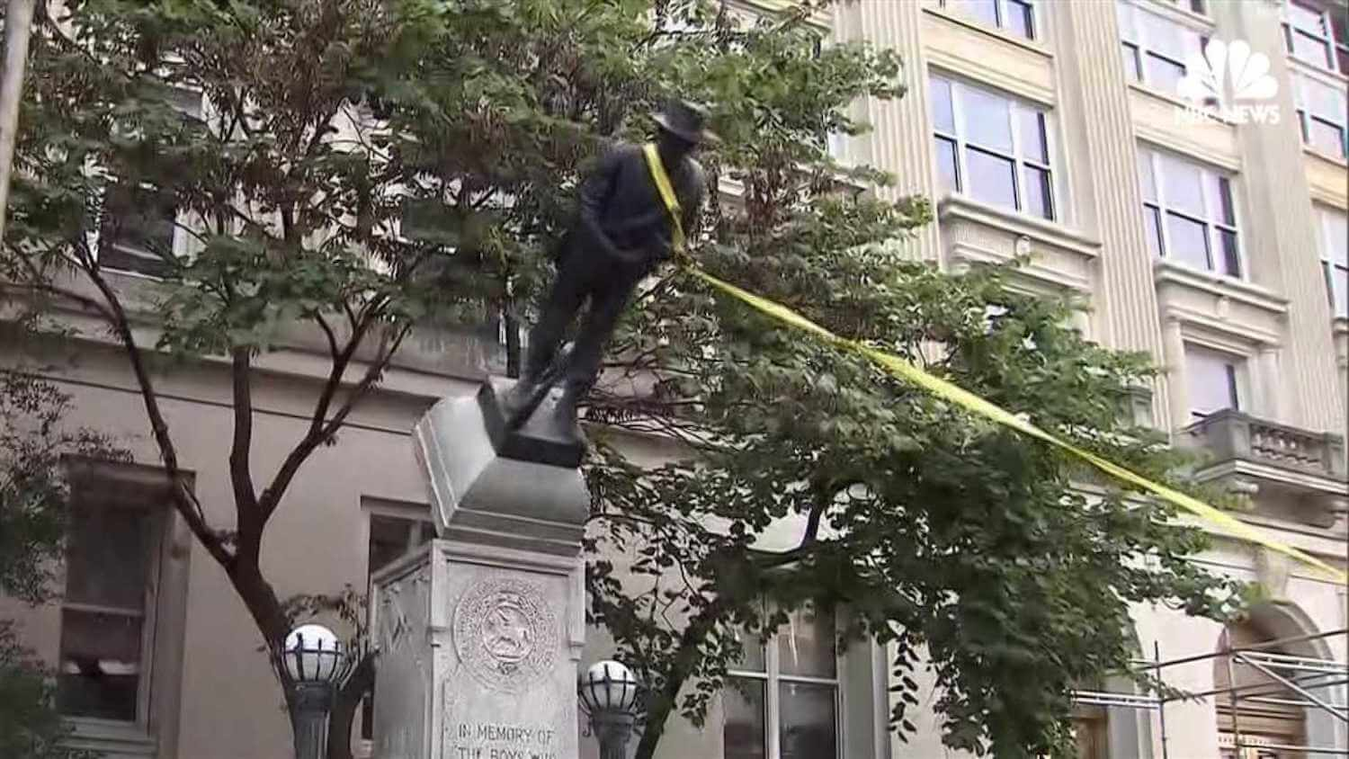 Confederate Statue Toppled In Durham, NC