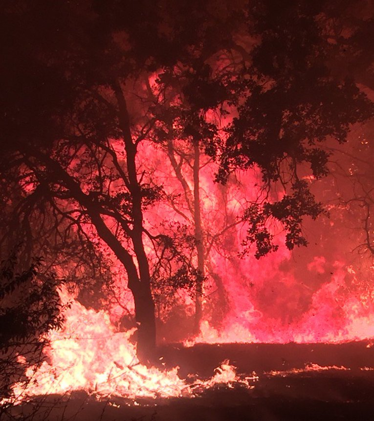 Cascade Fire Northern California Wildfires