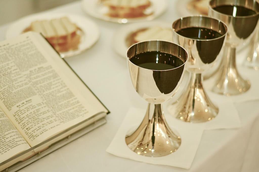 Passover Bread Wine Bible Jesus Christ
