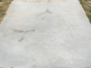 Georgia Guidestones: Floor Plaque