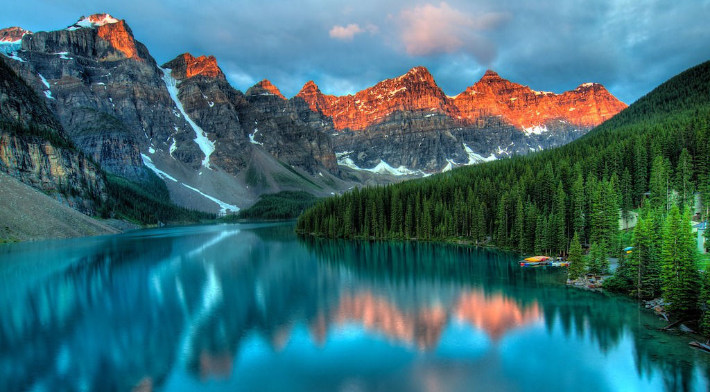 Alberta Canada Mountain Lake