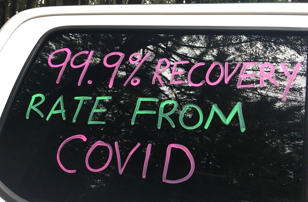 99.9% Recovery Rate From COVID-19