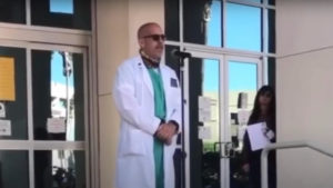 California Doctor Speaks For Thousands Of Physicians Against COVID-19