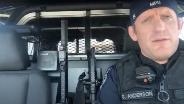 Police Officer Posts Video Urging Law Enforcement To Stand Behind Constitution