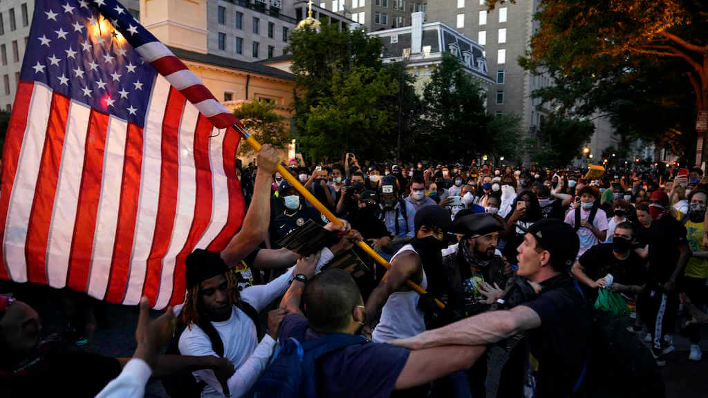 Setup Anti-American Riots Continue